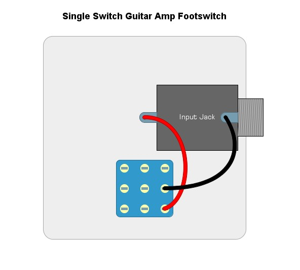 DIY Guitar Amp Footswitch & Channel Changing Pedal | DIY Effects Pedals | Guitar Footswitch Wiring Diagram |  | DIY Effects Pedals